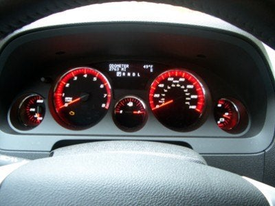 gmc acadia 030 gauges