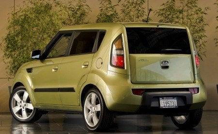2010 Kia Soul rear