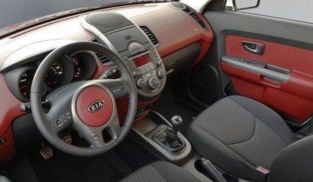 2010 Kia Soul interior