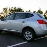 2009 Nissan Rogue side