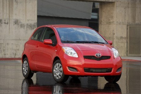 2009 Toyota Yaris 3-door Liftback