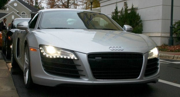Audi R8 at World Class Driving