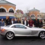 Group in front of the SLR