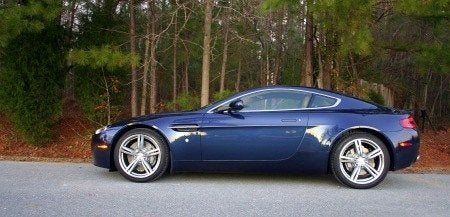 2009 Aston Martin V8 Vantage Review