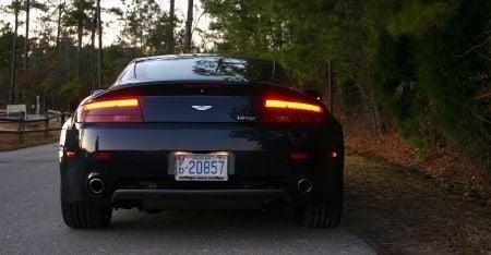 2009 Aston Martin V8 Vantage rear