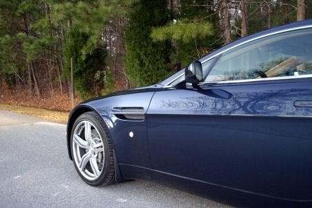 2009 Aston Martin V8 Vantage long