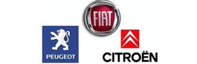 Fiat, Peugeot, Citroen logo