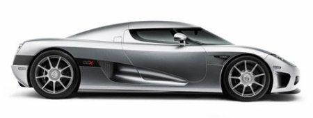 Koenigsegg CCX side