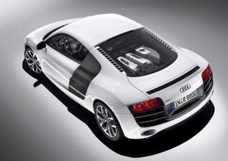Audi R8 V10 top side