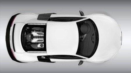 Audi R8 V10 top