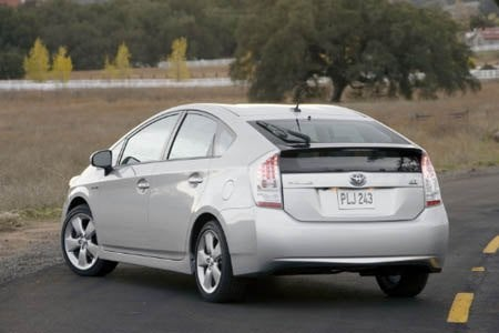 2010 Toyota Prius rear