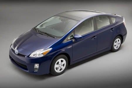 2010 Toyota Prius top