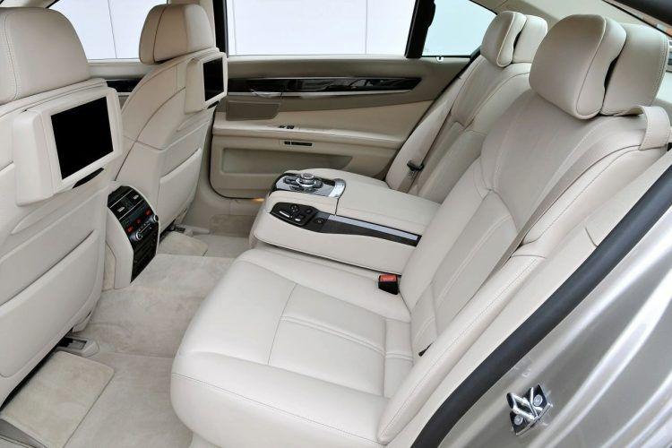 2009 BMW 730Ld interior