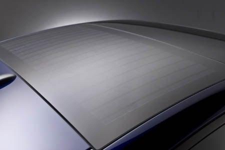 2010 Toyota Prius roof