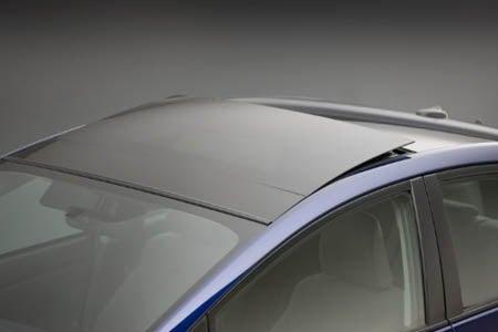 2010 Toyota Prius solar panel