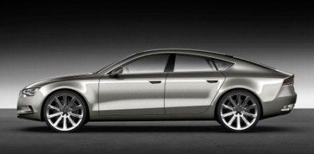 Audi Sportback Concept profile