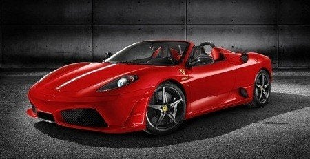 Sit in a Ferrari F430 Spider Scuderia at Home!