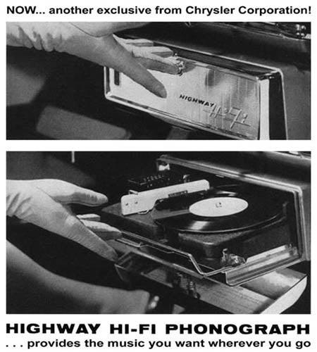 Chrysler Record Player