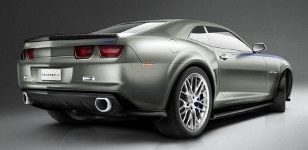 2010 Hennessey HPE700 Camaro rear