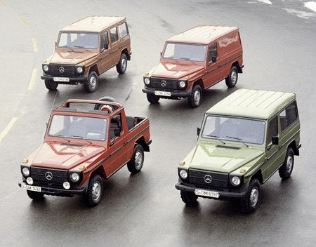 Mercedes Benz G-Classes