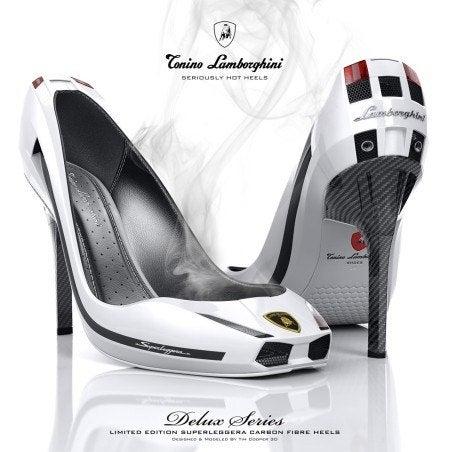 Lamborghini Gallardo Superleggera heels