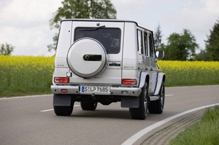 Mercedes Benz G-Class rear