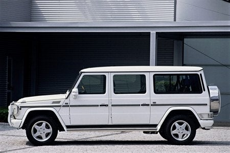 Mercedes Benz G-Class stretch