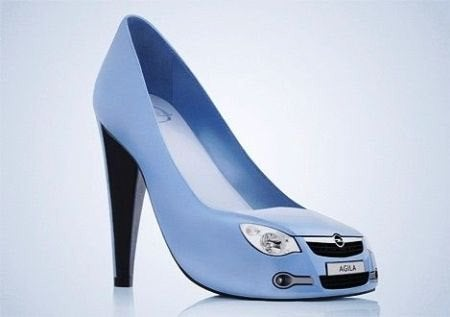 Opel Agila shoes