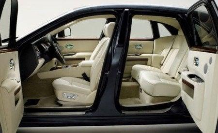 Rolls-Royce 200EX interior