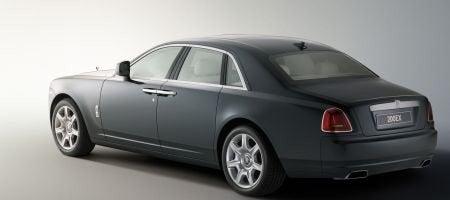 Rolls Royce 200EX rear
