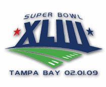 2009 Superbowl XLIII logo