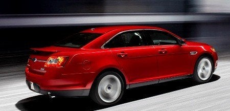 2010 Ford Taurus SHO rear