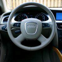2009 Audi A4 cockpit