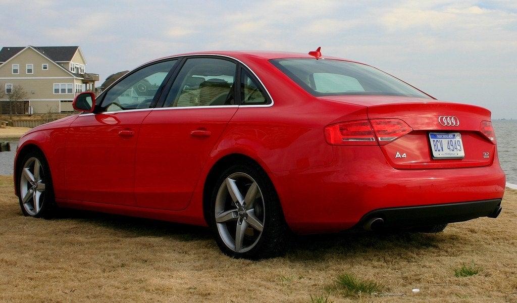 2009 Audi A4 rear