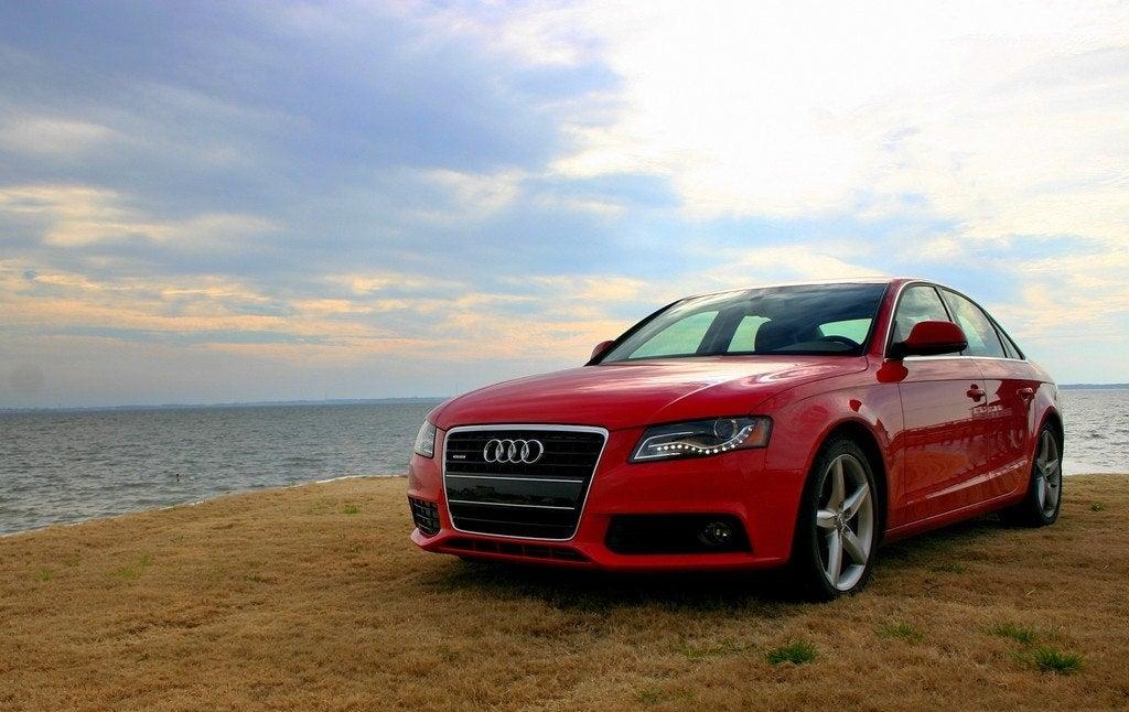 2009 Audi A4 front