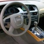 2009 Audi A4 interior