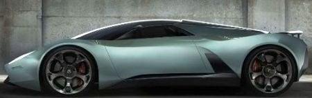 Lamborghini Insecta Concept side