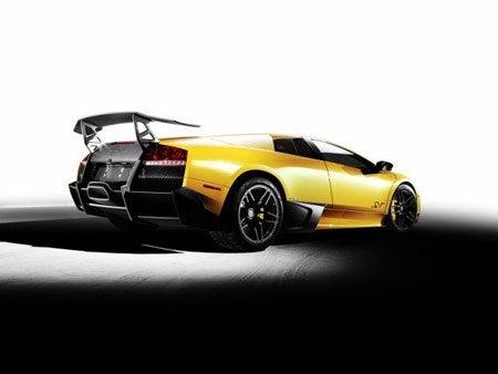 Lamborghini Murciélago LP 670-4 SuperVeloce rear