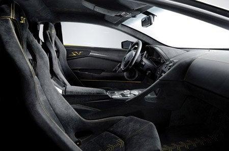 Lamborghini Murciélago LP 670-4 SuperVeloce interior