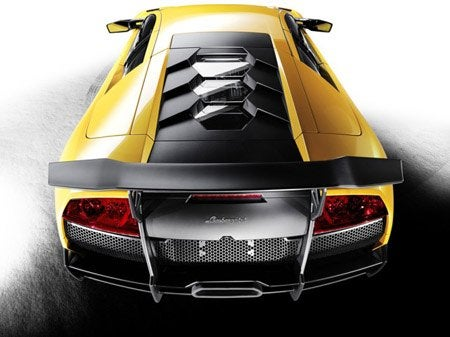 Lamborghini Murciélago LP 670-4 SuperVeloce top rear