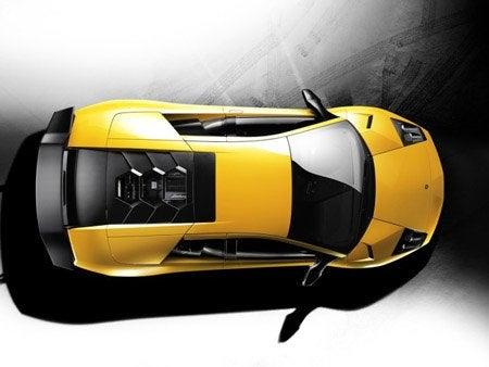 Lamborghini Murciélago LP 670-4 SuperVeloce top