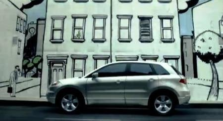 Acura RDX Wall Art Commercial