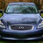 2009 Infiniti G37x Coupe front