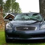 2009 Infiniti G37x Coupe frontish