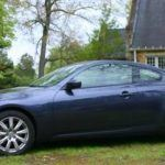 2009 Infiniti G37x Coupe side