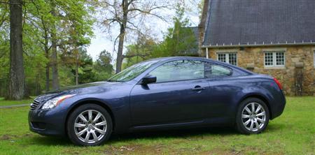 2009 Infiniti G37x Coupe side