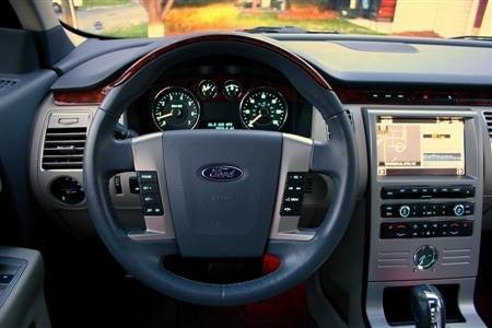 2009 Ford Flex interior