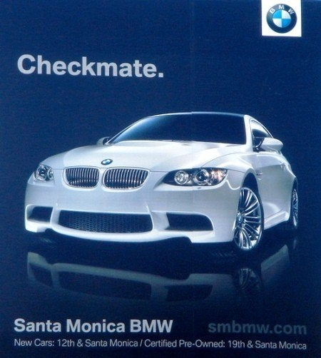 Best Car For Uber >> Audi and BMW Billboard War