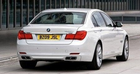 BMW 760Li rear