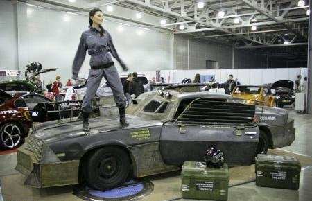 Russian Students Build Death Race-Inspired Camaro